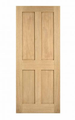 Oak London FD30 Fire Door.