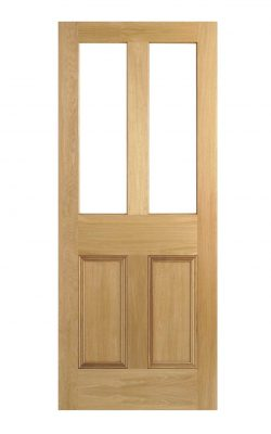 Malton Un-Glazed Victorian Oak Door