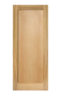 LPD Oak Pattern 10 One Panel FD30 Fire DoorLPD Oak Pattern 10 One Panel FD30 Fire Door