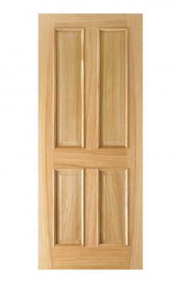 LPD Oak Regency 4-Panel RM2S FD30 Fire DoorLPD Oak Regency 4-Panel RM2S FD30 Fire Door