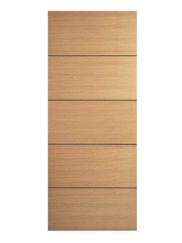 Oak Santandor FD30 Fire Door.