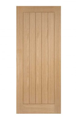Oak Somerset FD30 Fire Door.