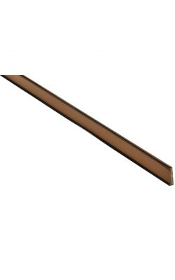 Brown Bladed Dual Seal Intumescent - 2100x20x4(mm)