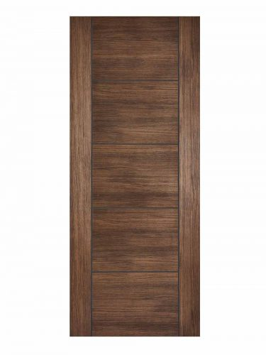 Walnut Laminated Vancouver FD30 Fire Door