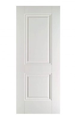 White Arnhem FD30 Fire Door.