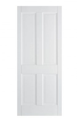 LPD White Canterbury 4-Panel FD30 Fire DoorLPD White Canterbury 4-Panel FD30 Fire Door