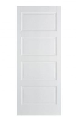 LPD White Contemporary FD30 Fire DoorLPD White Contemporary FD30 Fire Door