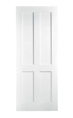 White London 4P FD30 Fire Door