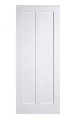 White Maine FD30 Fire Door.