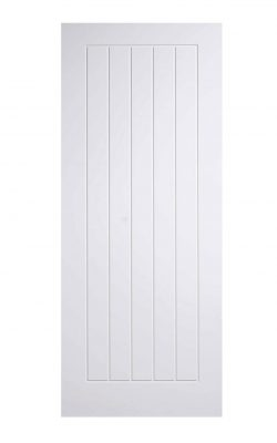 LPD White Mexicano FD30 Fire DoorLPD White Mexicano FD30 Fire Door