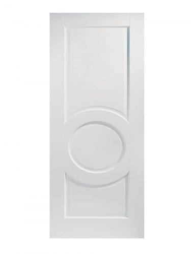 White Montpellier FD30 Fire Door.
