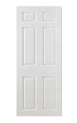 LPD White Moulded Smooth 6-Panel Square Top FD30 Fire DoorLPD White Moulded Smooth 6-Panel Square Top FD30 Fire Door