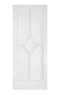 White Reims FD30 Fire Door.