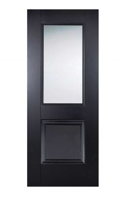 LPD Black Arnhem 1-Light Internal Glazed DoorLPD Black Arnhem 1-Light Internal Glazed Door