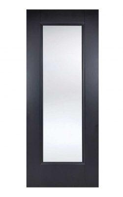 LPD Black Eindhoven 1-Light Internal Glazed DoorLPD Black Eindhoven 1-Light Internal Glazed Door