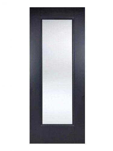 LPD Black Eindhoven 1-Light Internal Glazed Door