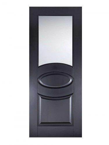 LPD Black Versailles Internal Glazed Door
