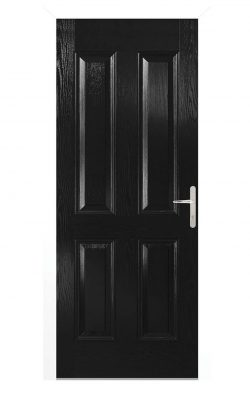 LPD Carsington Black Composite External Door SetLPD Carsington Black Composite External Door Set