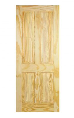 LPD Clear Pine 4-Panel Internal DoorLPD Clear Pine 4-Panel Internal Door