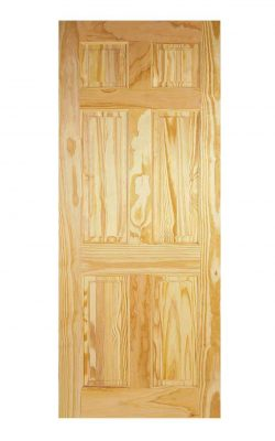 LPD Clear Pine 6-Panel Internal DoorLPD Clear Pine 6-Panel Internal Door