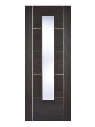 LPD Dark Grey Laminated Vancouver Internal Glazed Door