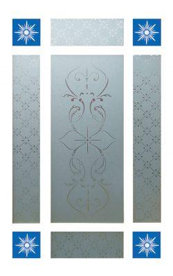LPD Downham Vestibule Door Glass PackLPD Downham Vestibule Door Glass Pack