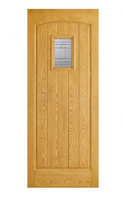 LPD GRP Cottage Oak External Glazed Door 1LLPD GRP Cottage Oak External Glazed Door 1L