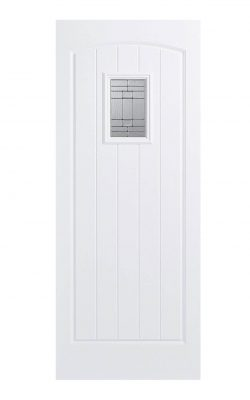 LPD GRP Cottage White External Glazed Door 1LLPD GRP Cottage White External Glazed Door 1L