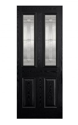 LPD GRP Malton Black External Glazed Door 2LLPD GRP Malton Black External Glazed Door 2L