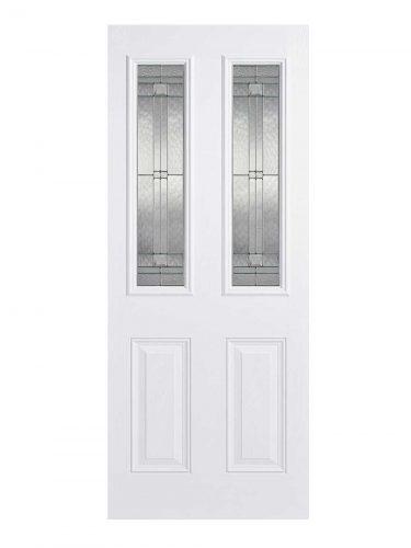 LPD GRP Malton White External Glazed Door 2L