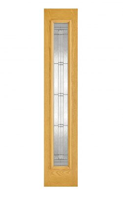 LPD GRP Sidelight Oak 1L Elegant External DoorLPD GRP Sidelight Black 1L Elegant External Door