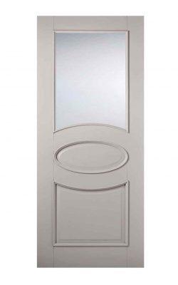 LPD Grey Versailles Internal Glazed DoorLPD Grey Versailles Internal Glazed Door