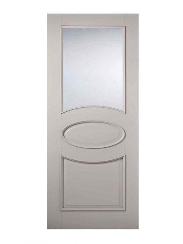 LPD Grey Versailles Internal Glazed Door