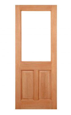 LPD Hardwood 2XG 2-Panel M&T External DoorLPD Hardwood 2XG 2-Panel M&T External Door