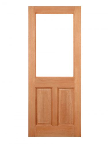 LPD Hardwood 2XG 2-Panel M&T External Door