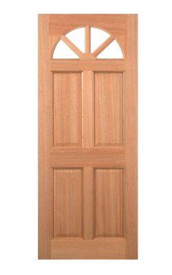 LPD Hardwood Carolina 4-Panel M&T External DoorLPD Hardwood Carolina 4-Panel M&T External Door