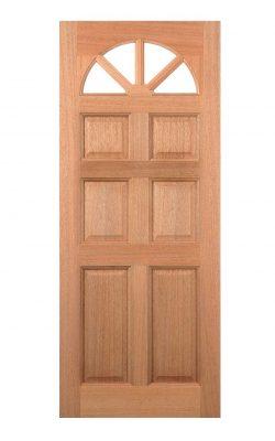 LPD Hardwood Carolina 6-Panel Dowelled External DoorLPD Hardwood Carolina 6-Panel Dowelled External Door