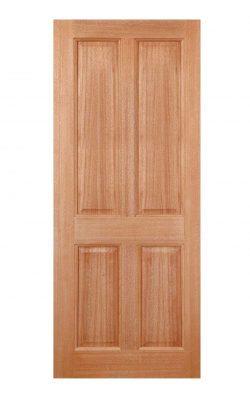LPD Hardwood Colonial 4-Panel M&T External DoorLPD Hardwood Colonial 4-Panel M&T External Door