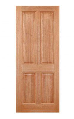 LPD Hardwood Colonial 4-Panel M&T External DoorLPD Hardwood Colonial 4-Panel M&T External Door