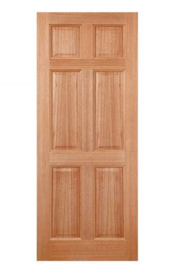 LPD Hardwood Colonial 6-Panel Dowelled External DoorLPD Hardwood Colonial 6-Panel Dowelled External Door