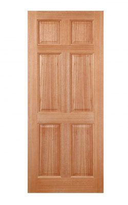 LPD Hardwood Colonial 6-Panel M&T External DoorLPD Hardwood Colonial 6-Panel M&T External Door