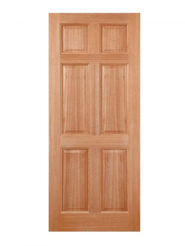 LPD Hardwood Colonial 6-Panel M&T External Door