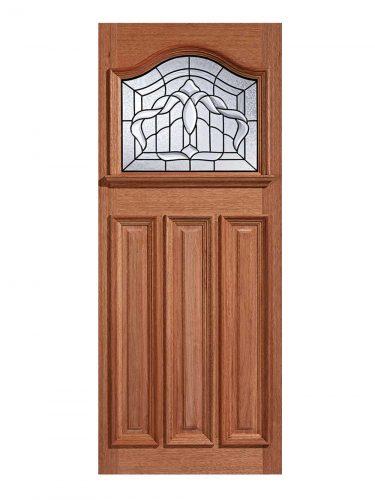 LPD Hardwood Estate Crown 1L Glazed External Door