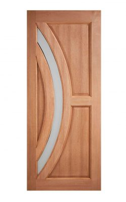LPD Hardwood Harrow Frosted Glazed External DoorLPD Hardwood Harrow Frosted Glazed External Door
