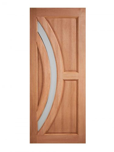 LPD Hardwood Harrow Frosted Glazed External Door