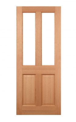 LPD Hardwood Malton 2L Frosted Glazed External DoorLPD Hardwood Malton 2L Frosted Glazed External Door