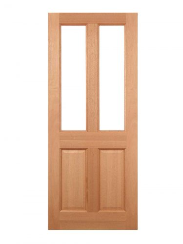 LPD Hardwood Malton 2L Frosted Glazed External Door