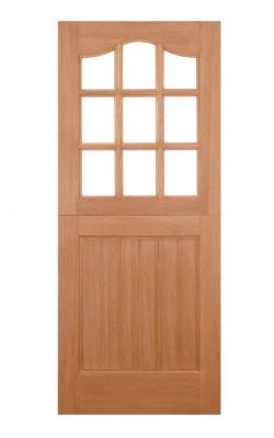 LPD Hardwood Stable 9L Dowelled Unglazed External DoorLPD Hardwood Stable 9L Dowelled Unglazed External Door