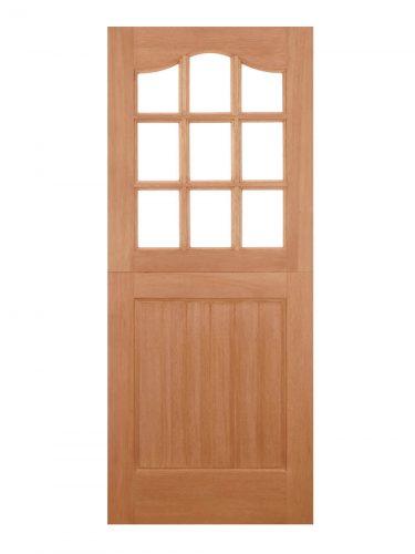 LPD Hardwood Stable 9L Dowelled Unglazed External Door