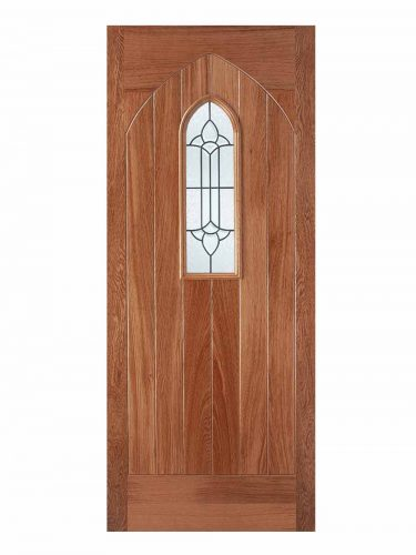 LPD Hardwood Westminster 1L Glazed External Door